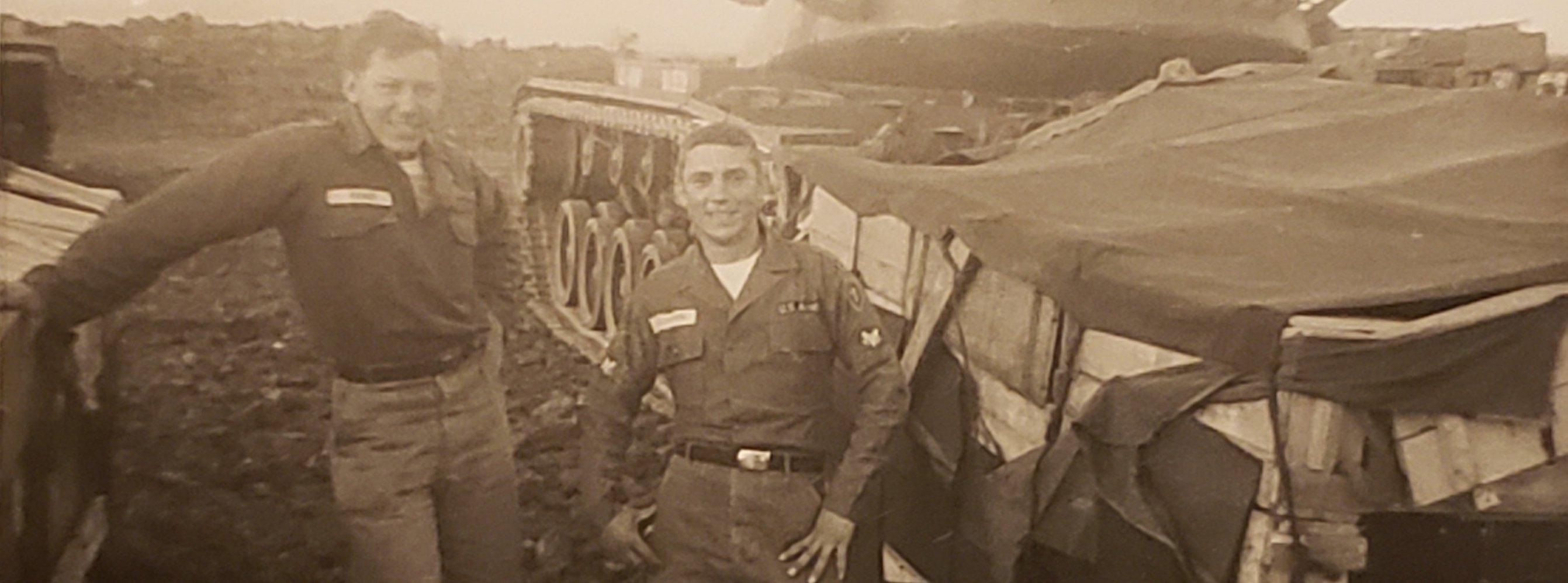Flags of Valor - Portraits of Valor - Jack Cornn, U.S. Army Master Sergeant